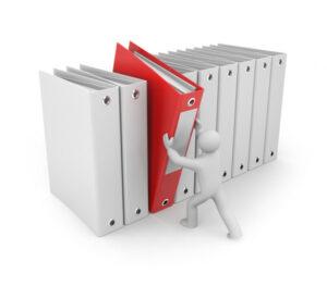 Asesoría legal inmobiliaria: Organización de archivos