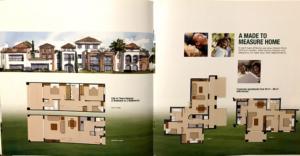 Planos viviendas SunScape CIMNSA Casa Don Juan Golf Resort